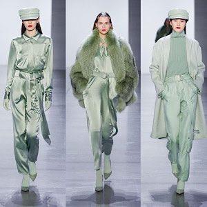 ミントグリーンファッションコーデ
