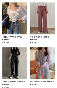 BEEP 韓国 ファッション